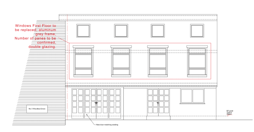 House renovation in London- Architecture100 drawings