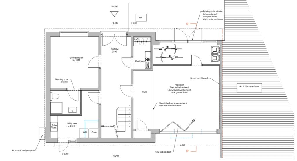 London architecture -loft conversion whitton