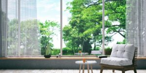 House extension fenestration specifications on plan